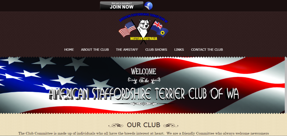 American Staffordshire Terrier Club of WA